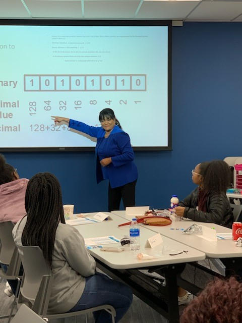 Teaching Binary Numbers