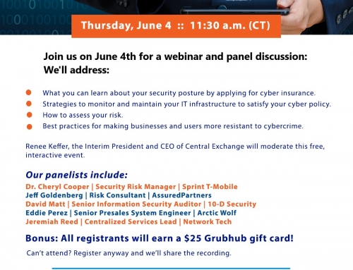 Balancing Your Investment Between Cybersecurity and Cyber Insurance Webinar + Panel Discussion